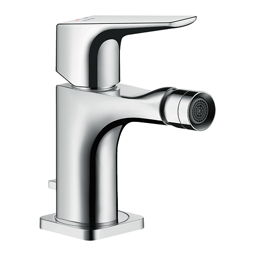 Axor Citterio E Single Lever Bidet Mixer With Lever Handle & Pop-Up Waste