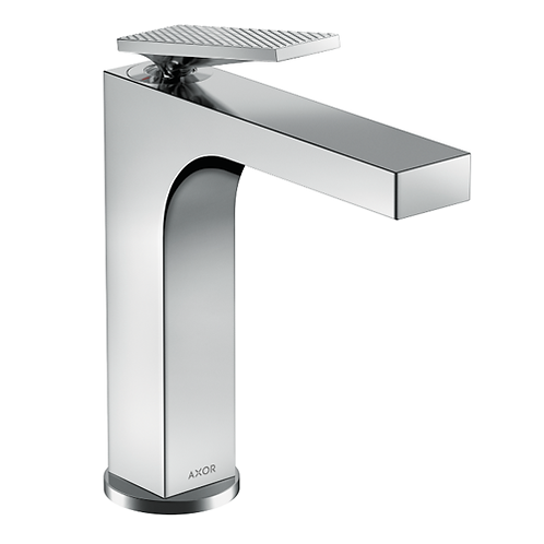 Axor Citterio Single lever basin mixer 160 with lever handle &  puw rhombic cut