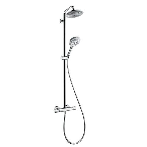 Hansgrohe Raindance S Showerpipe 240 1jet with thermostat
