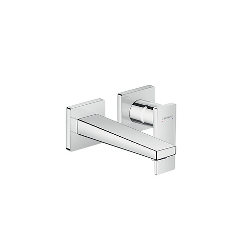 Hansgrohe Metropol Wall Mounted Basin Mixer With 165mm Spout