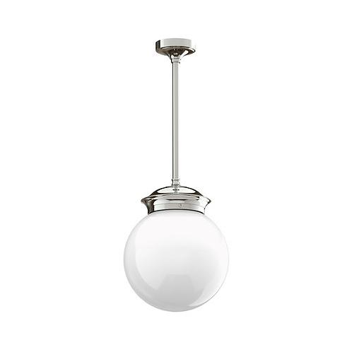 "Classic 8"" Globe Drop Ceiling Light"