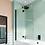 Thumbnail: Crosswater Design 8 Double Panel Fully Folding Bath Screen