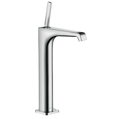 Axor Citterio E Single lever basin mixer 250 with pin handle for wash bowls
