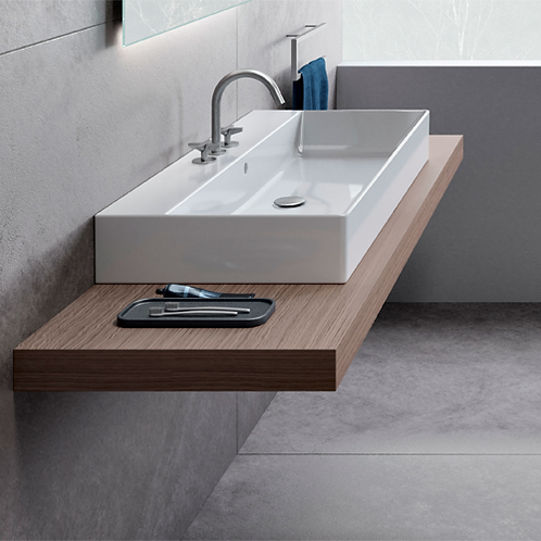 Kube X 100x47 Washbasin