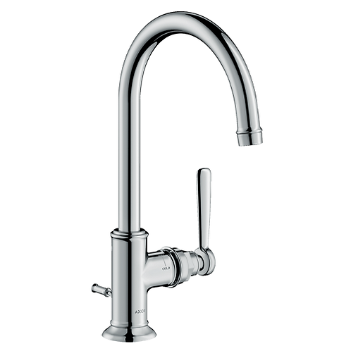 Axor Montreux Single lever basin mixer 210 with lever handle with puw