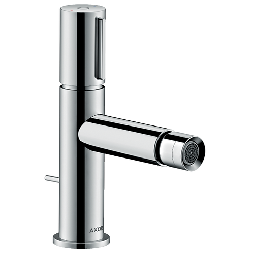 Axor Uno Bidet mixer Select with pop-up waste set