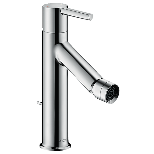 Axor Starck Single lever bidet mixer with lever handle and pop-up waste set