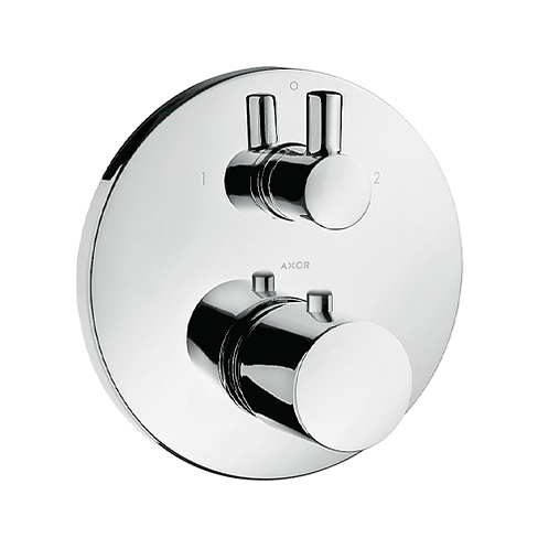 Axor Uno Thermostatic Shower Valve 2 Outlet