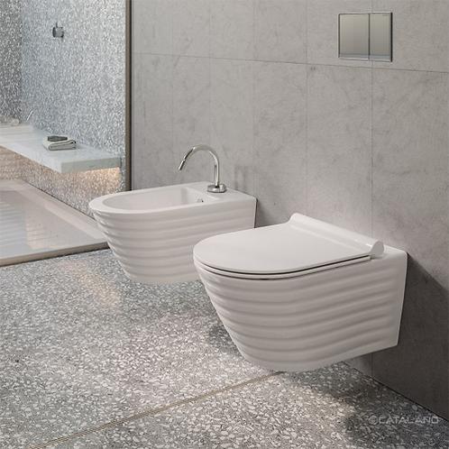 Zero Classy Newflush 55 Wall Hung Toilet