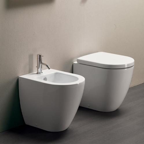 Pura Swirlflush Compact Floor Standing Toilet
