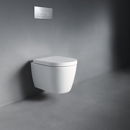 Duravit Me By Starck Compact Wall Mounted Toilet