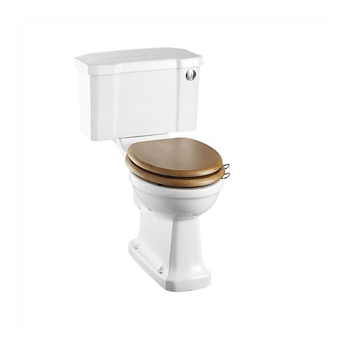Close Coupled WC With 520 Push Button Cistern