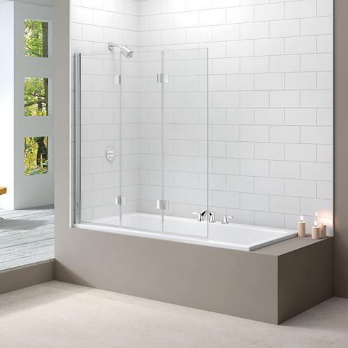 3 Panel Folding Bath Screen