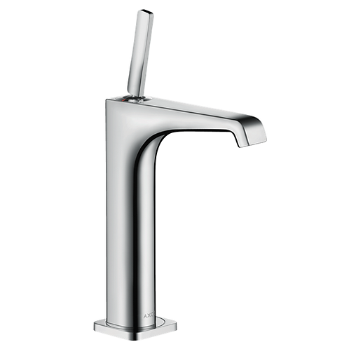 Axor Citterio E Single lever basin mixer 190 with pin handle for wash bowls