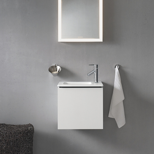 L-Cube Cloakroom Vanity Unit Wall Mounted