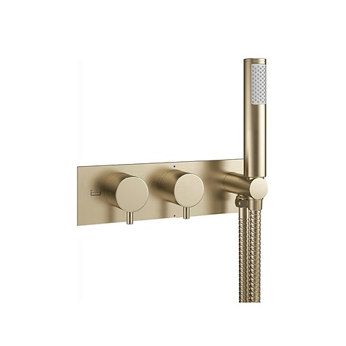 MPRO Two Outlet Thermostatic Shower Valve & Handset