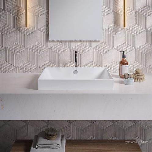 Zero 60x37 Washbasin