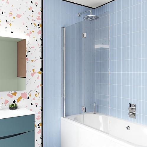 Crosswater Design 8 Double Panel Fully Folding Bath Screen