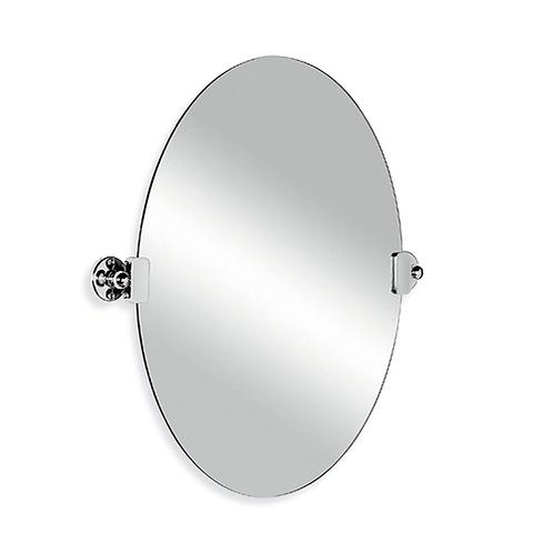 Edwardian Oval Tilting Mirror
