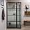 Thumbnail: Deco Pivot Door With Inline Panel