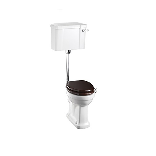 Low Level WC With 520 Lever Cistern