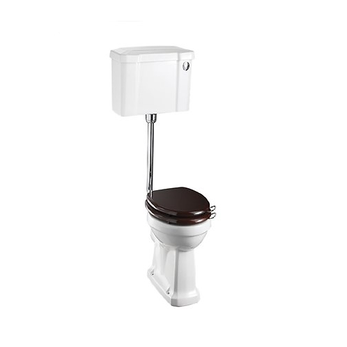 Low Level WC With 520 Push Button Cistern
