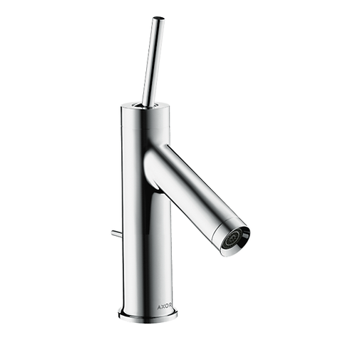 Axor Starck Single lever basin mixer 70 with pin handle with pop up waste