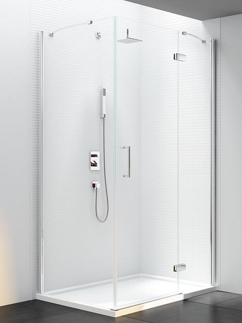 6 Series Frameless Pivot & Inline Door