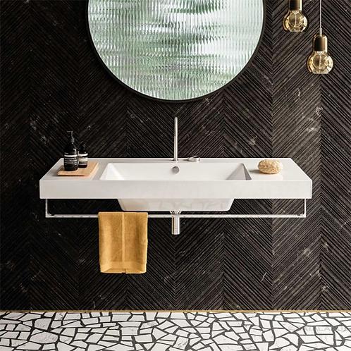 Zero Up 125x50 Washbasin