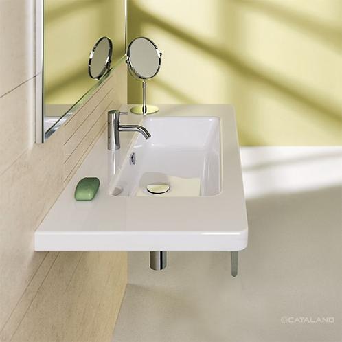 New Light 100x48 Washbasin