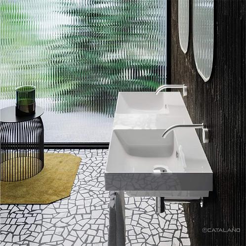Catalano Zero Up 125x50 Double Washbasin