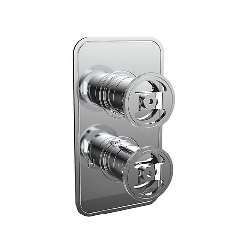 Crosswater UNION Single Outlet Thermostatic Shower Valve - Wheel Control