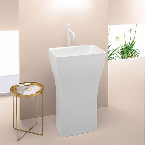 Sand Freestanding Basin - For Floor Waste