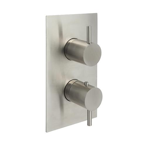 JTP Inox thermostatic concealed 1 outlet shower valve