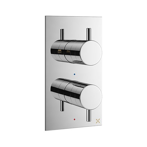 Crosswater MPRO Two Outlet Thermostatic Shower Valve