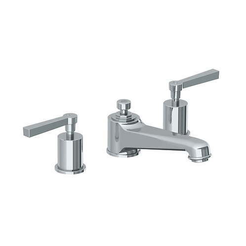 Janey Mac 3 Hole Basin Mixer With Pop Up Waste