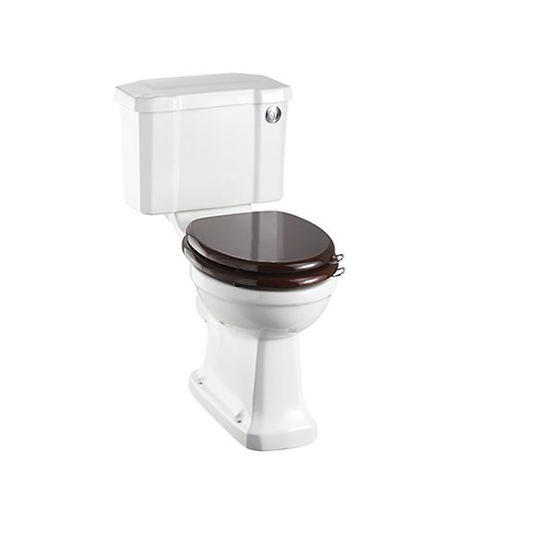 Rimless Close Coupled WC With 440 Push Button Cistern