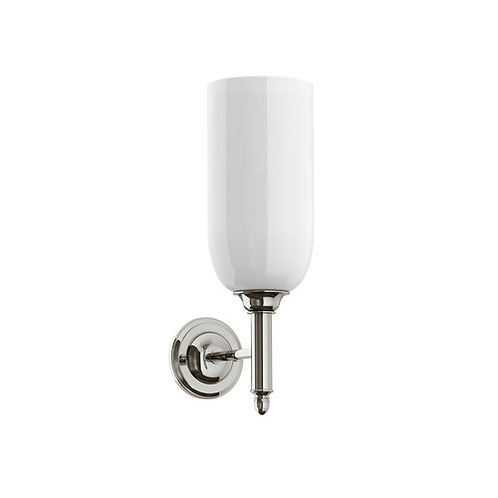 Lefroy Brooks Classic Flute Wall Lamp