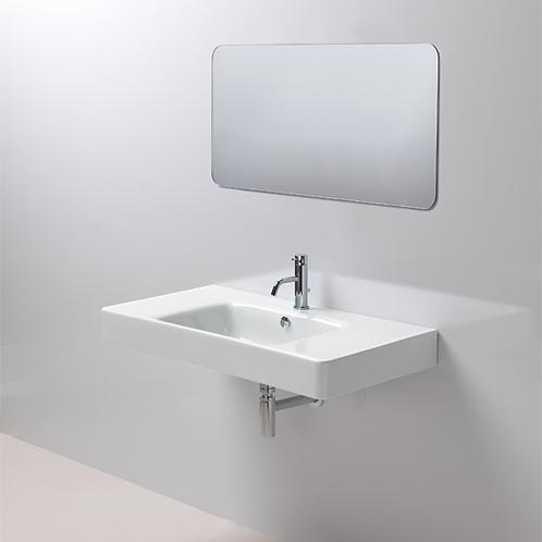 GSI Sand 100x50 Washbasin With Ledge