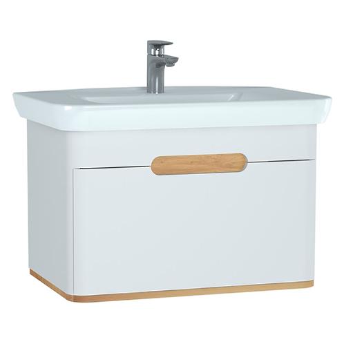 Vitra Sento 1 Drawer Unit & Basin 80cm