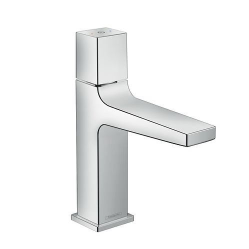 Hansgrohe Metropol Single lever basin mixer Select 110 with push open waste