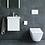 Thumbnail: Viu Rimless Compact Wall Mounted Toilet