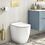 Thumbnail: Crosswater Glide II Back to Wall Rimless Toilet