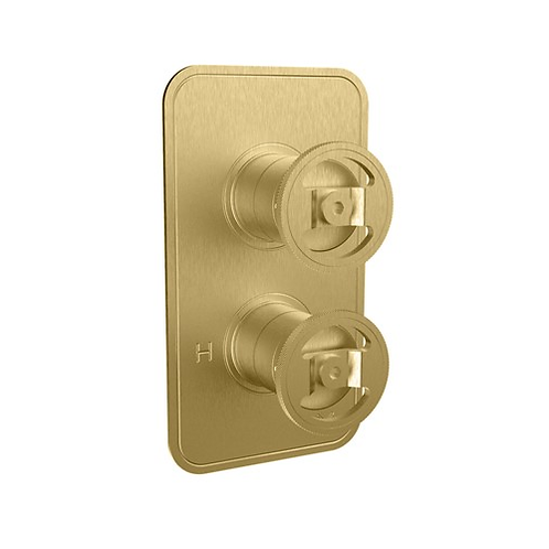 UNION Single Outlet Thermostatic Shower Valve - Wheel Control