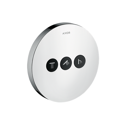 Axor ShowerSelect Valve Round 3 Outlet