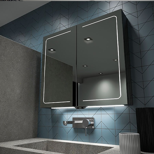 Vapor LED Mirror Cabinet