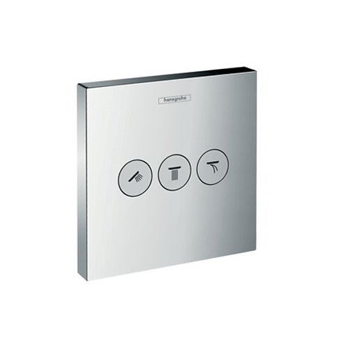 Hansgrohe ShowerSelect Thermostat For 3 Outlets