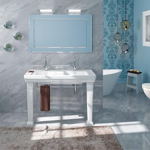 Catalano Canova Royal 125x54 Double Washbasin