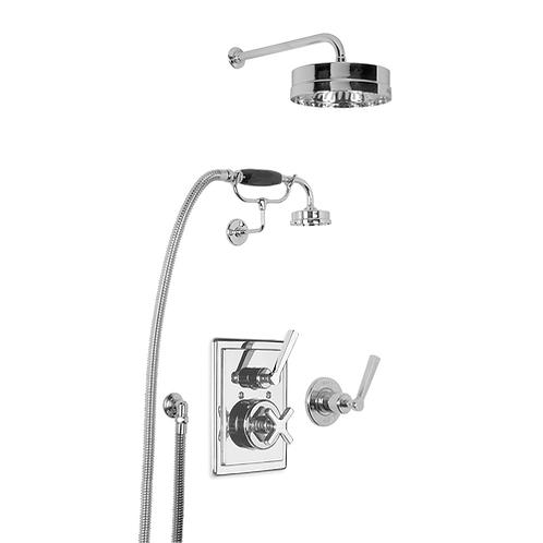 MK8716 Mackintosh Dual Control Thermostatic Valve With Shower Kit