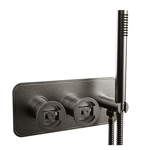 UNION Two Outlet Thermostatic Shower Valve & Handset